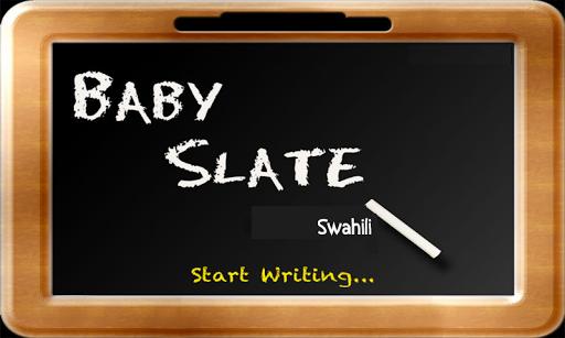 Baby Slate - Swahili