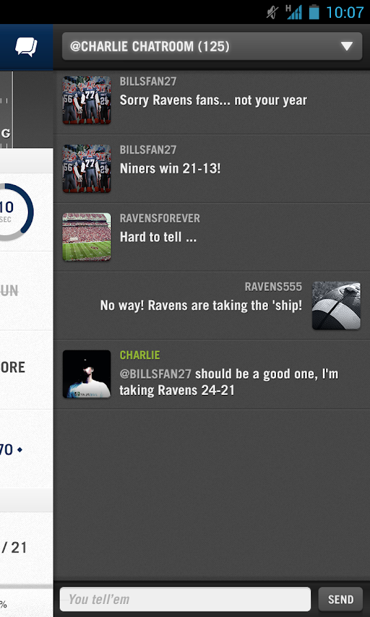 CBS Sports PrePlay - screenshot