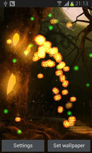 Halloween Jack-o-lanterns lwp