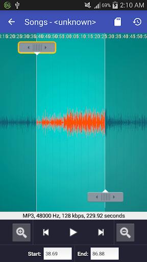 Video to MP3 Converter - MP3 Tagger 1.6.0 screenshots 7