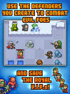 Pixel Defenders Puzzle- screenshot thumbnail