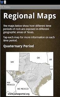 Texas Paleontology - screenshot thumbnail