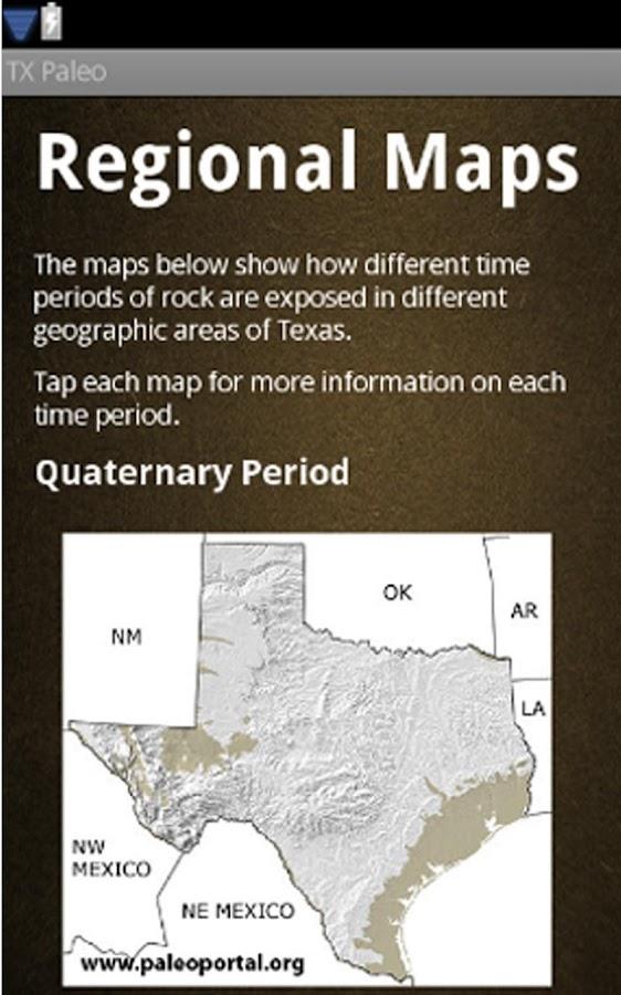 Texas Paleontology - screenshot