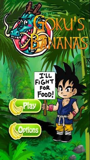 Goku Bananas Dragon Z