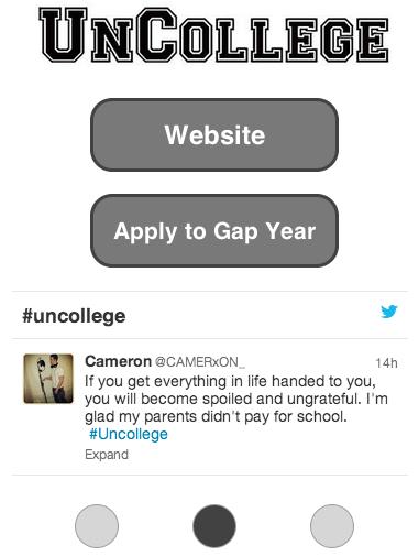 【免費教育App】Uncollege-APP點子