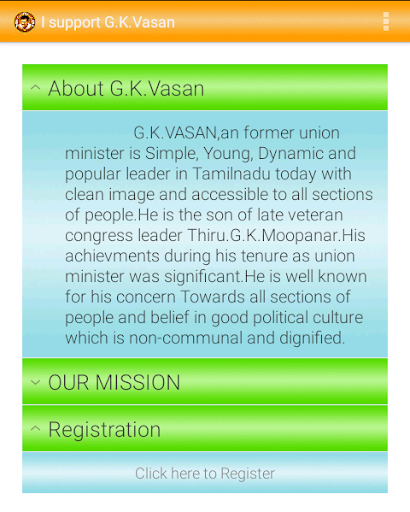 I SUPPORT G.K.VASAN