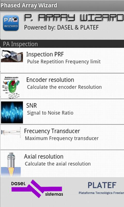 Phased Array Wizard LITE- screenshot