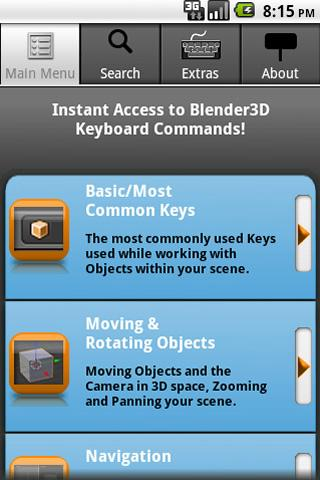 iKeyMaster:Blender3D- screenshot
