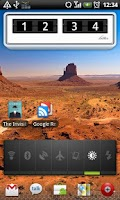 Screenshot of Bitter clock (free)