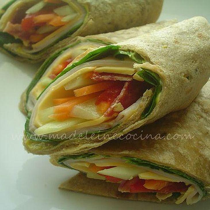 Turkey and Vegetable Wraps Recipe