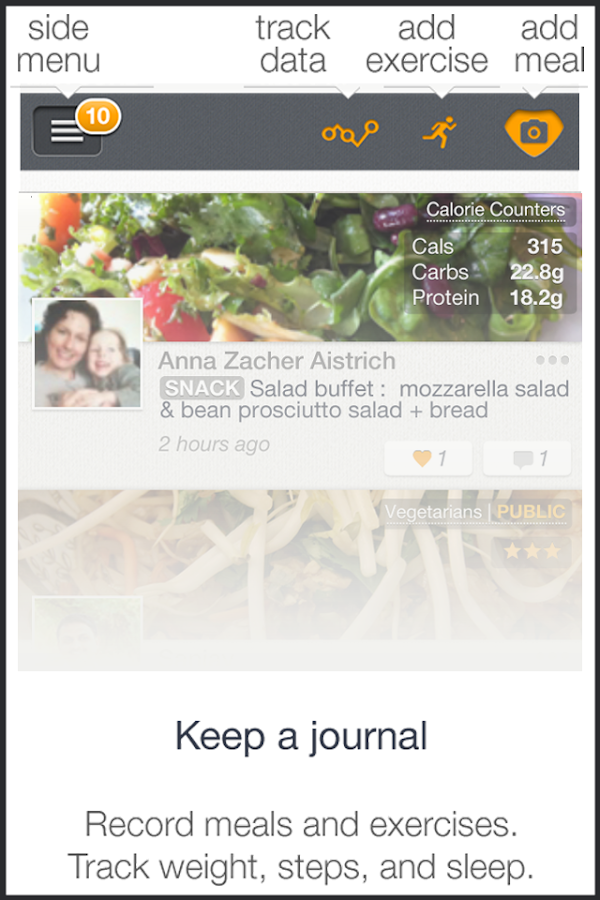 MealLogger-Photo Food Journal - screenshot