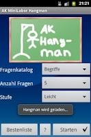 Screenshot of AK MiniLabor Phone