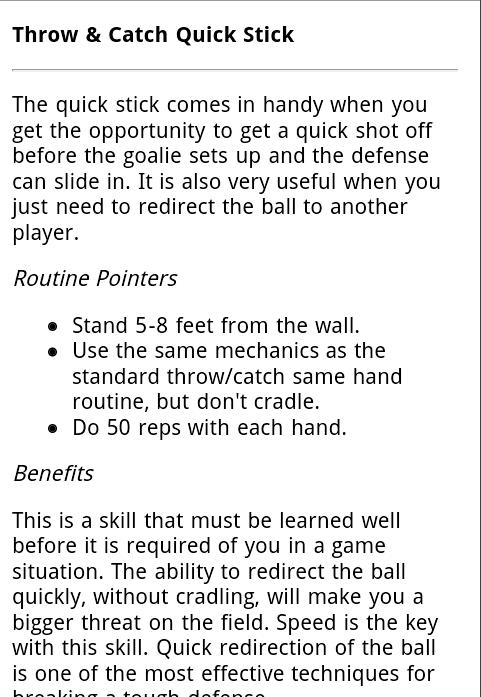 Lacrosse Goalie Workouts