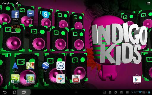 3D Indigo Kids LWP - FREE
