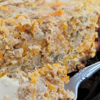 Easy Crockpot Breakfast Pie.