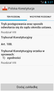 Constitution of Poland- screenshot thumbnail