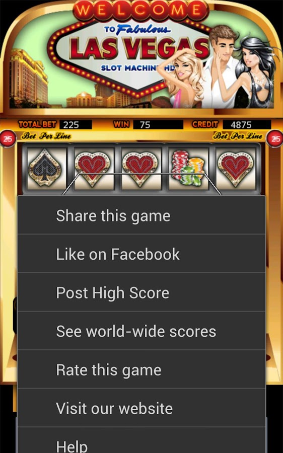 Las Vegas Slot Machine HD - screenshot