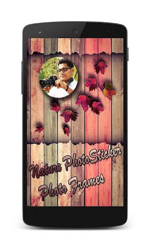 Nature Photo Sticker Frame