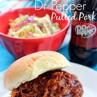 Crock Pot Dr. Pepper Pulled Pork.
