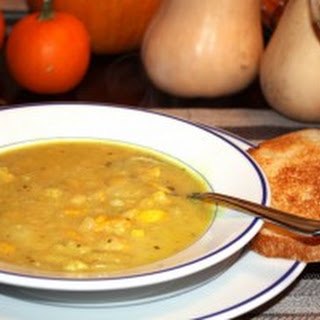 Curried Summer Squash Soup.