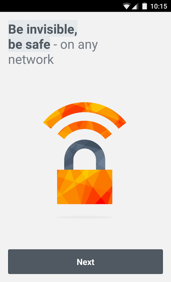 Avast SecureLine VPN- screenshot