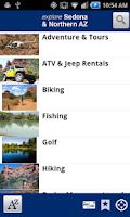 Screenshot of Explore Sedona & Northern AZ