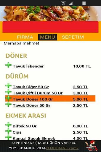Yemek Bank Firma
