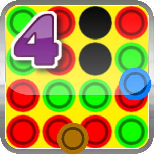 Connect Four in a Row Icon