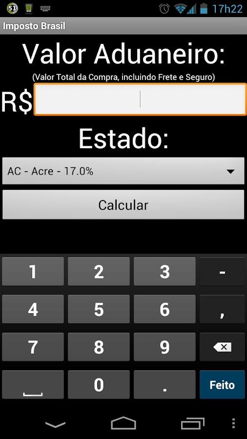 Imposto Brasil- screenshot
