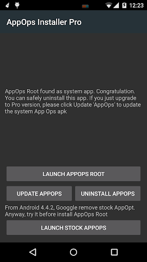 App Ops [Root] 2.0 screenshots 2