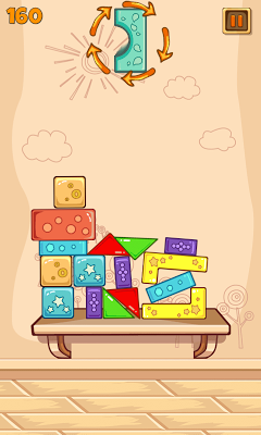 Falling Block - free fun game - screenshot