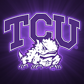 TCU Horned Frogs Live Clock