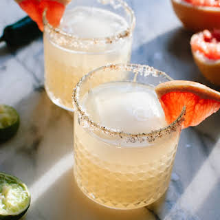Spicy Grapefruit Margaritas.