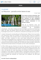 Screenshot of Le Bien Public