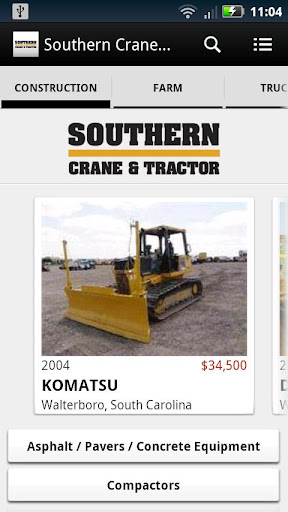 Southern Crane Tractor