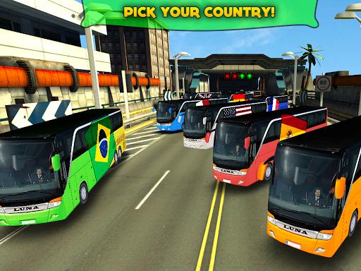 Soccer Team Bus Battle Brazil v1.2.1 APK (Mod Money)