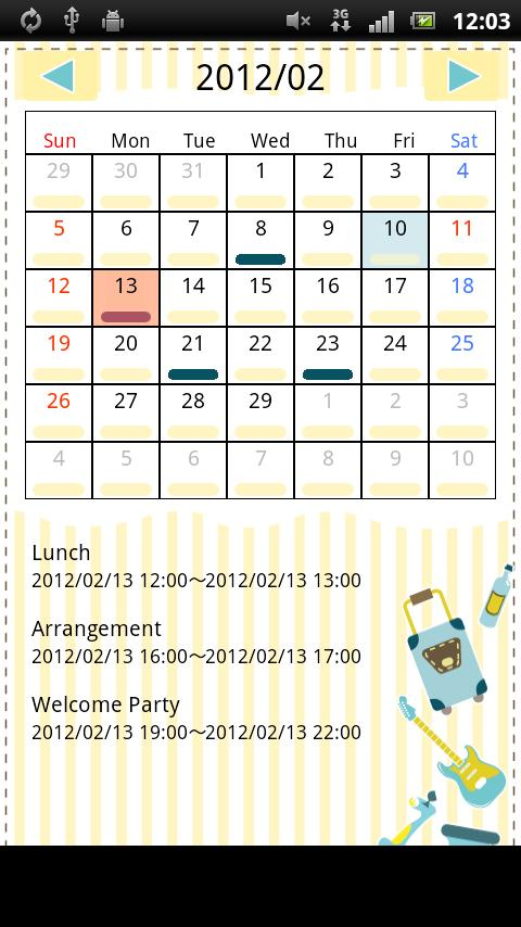 Smart Calendar- screenshot