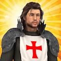 1096 AD: Knight Crusades logo