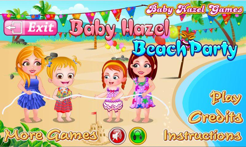 Baby Hazel Beach Party Android Apps On Google Play