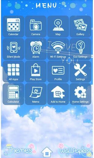 Cute Theme-Skywriter- 1.1 Windows u7528 3