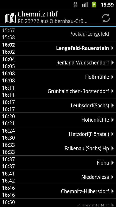 Erzgebirgsbahn- screenshot
