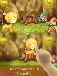 Potty Training:LearningAnimals - screenshot thumbnail