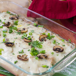 Sherried Chicken with Mushrooms