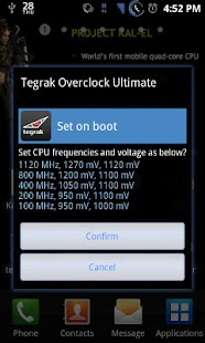 Tegrak Overclock Ultimate- screenshot thumbnail
