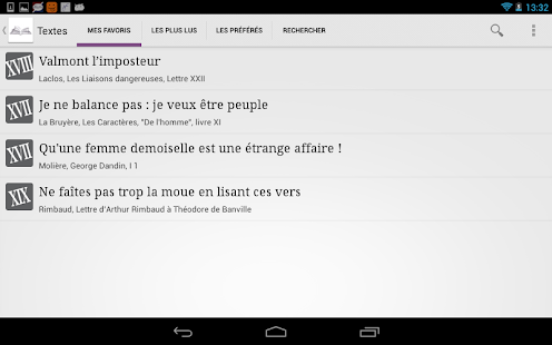Un Texte Un Jour- screenshot thumbnail