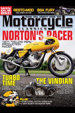 【免費娛樂App】Motorcycle Classics Magazine-APP點子