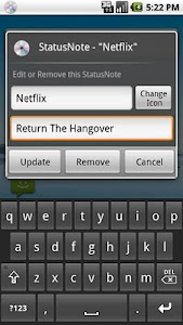 StatusNote (Status Note) screenshot 0