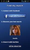 Screenshot of Find My Match