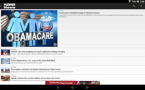 KAKE News - screenshot thumbnail