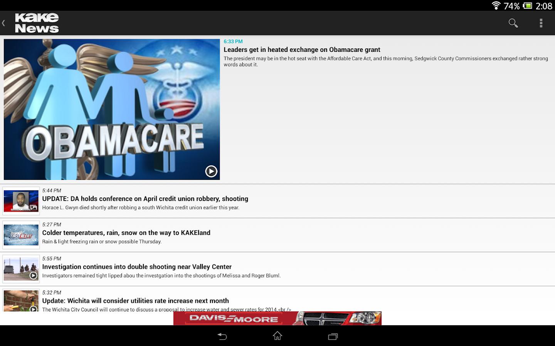 KAKE News - screenshot